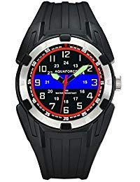 Police Officer Blue Line ABS Aquaforce Mens Watch - 50m Water Resistant