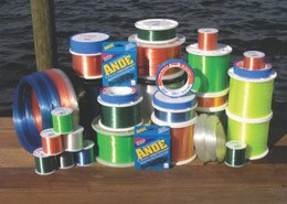 Ande Back Country Monofilament Line with 10-Pound Test, Blue, 1-Pound Spool (5400-Yard)