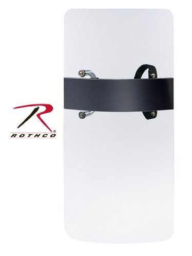 Rothco Clear Polycarbonate Blank Antiriot Shield