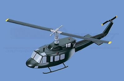 UH-1N Twin Two Twelve Huey (Marines) Aircraft Model Mahogany Display Model / Toy. Scale: 1/43