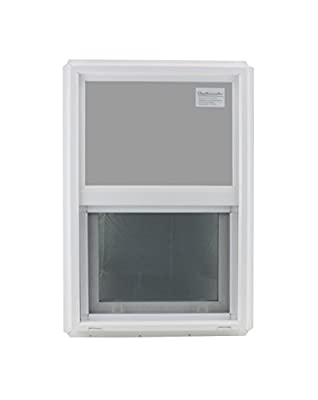 "Double Pane Window 18"" x 27"" Tempered Glass Low-E PVC Frame"
