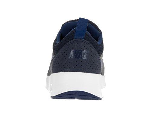 Nike Kvinnor Air Max Thea Txt Textil Tränare Obsidian / Kust Blå / Summit Vita