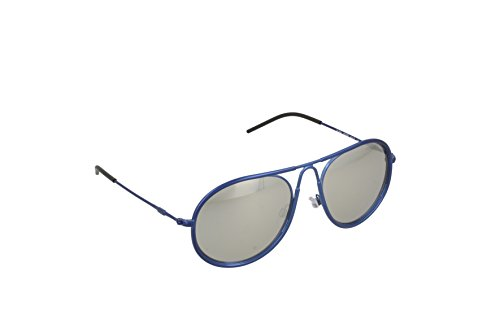 Armani EA2034 Sunglasses 30196G-54 - Blue Frame, Light Grey Mirror - Sunglasses Blue Armani