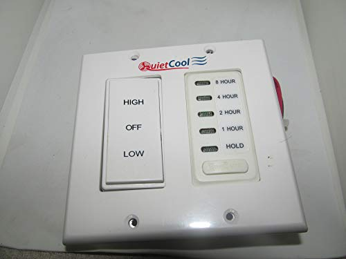 Quietcool Timer Control Kit for 2 Speed Cool Whole House Fan Models | IT-KIT-2