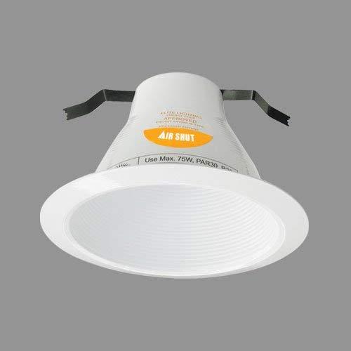 Elite Lighting AF636W-WH White Baffle Trim ()