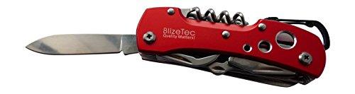 BlizeTec 14 Function Tactical Folding Pocket Knife (Red Violet)