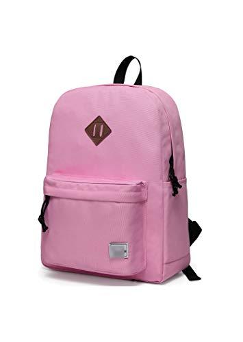 School Backpacks Travel School Bags Bookbag Fashion Classic University Backpacks,Pink