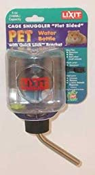 Lixit Quick Lock Flat Sided Water Bottle 5 oz