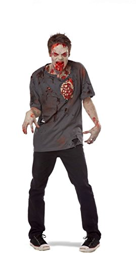 [Zombie Rib Pack Halloween Decoration] (Zombie Ribs Costume)
