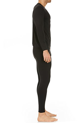 Thermajohn Men's Ultra Soft Thermal Underwear Long Johns Set with Fleece Lined 3