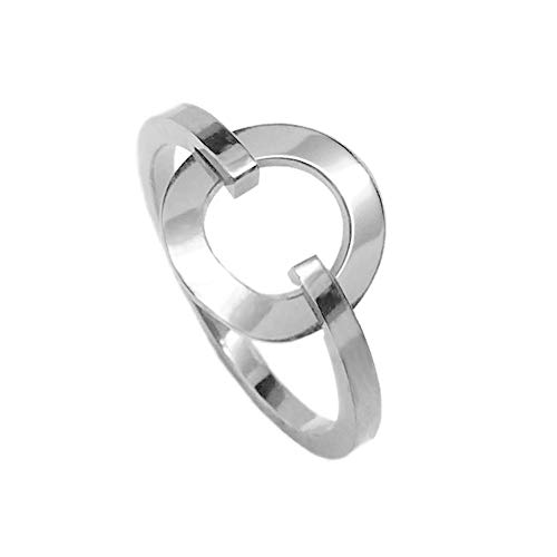 - Loralyn Designs Stainless Steel Simple Open Circle Ring Cool Jewelry for Women (Size 9)
