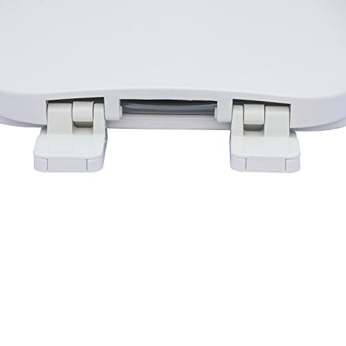 Karlson KS1241-1901-WH Builder Grade Plastic Elongated Toilet Seat White by Karlson (Image #3)