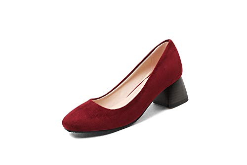 Red 36 5 APL10448 Sandales Rouge Femme Compensées BalaMasa nFSZXqZ