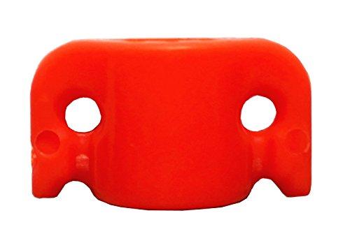 GPP Bowfishing Arrows Safety Slides (Pack of 12),5/16 ID Orange