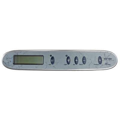 Dimension One Spas 01560-320-5 5 Button Mid-Range Upper Control Panel (Mid Range Control)