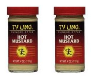 Ty Ling Mustard Chinese Hot 4 oz (Pack of 2)