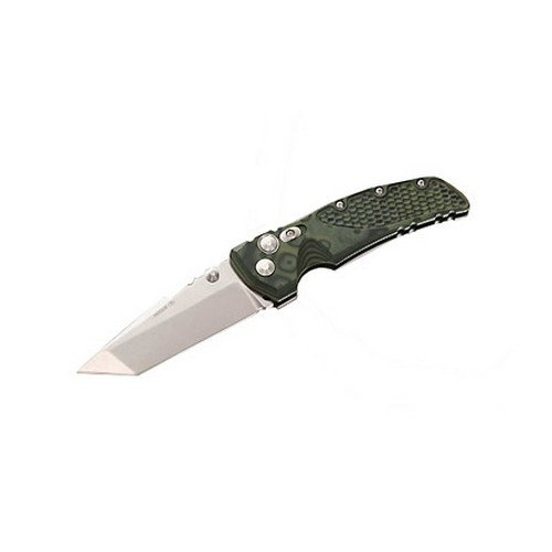 Hogue OD Green Camo G-10 Handle, 4 in. Tanto Blade, Plain