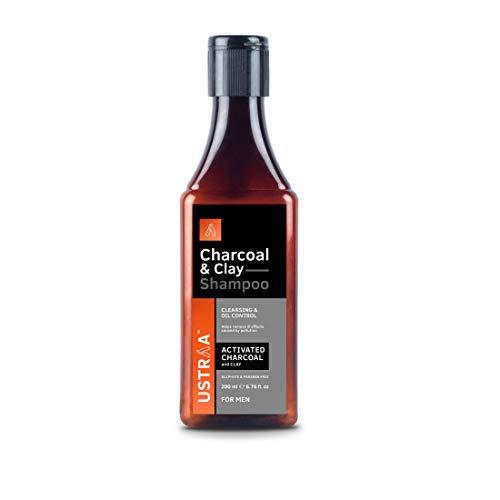 Ustraa Charcoal & Clay Shampoo- 200 ml