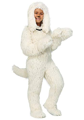 Shaggy Sheep Dog Kids Costume Large -