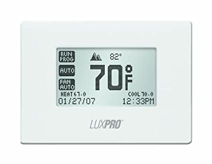 luxpro pspu721t Touch Screen de 7 Day Deluxe Programmable Termostato by LUXPRO