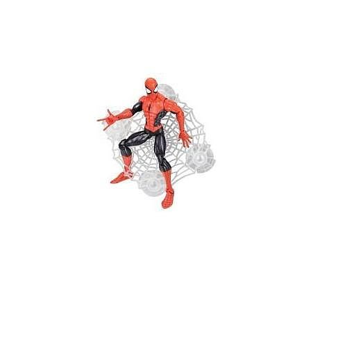 (Spider-man Classic Heroes Figure Assortment Spider-Man Red and Black)