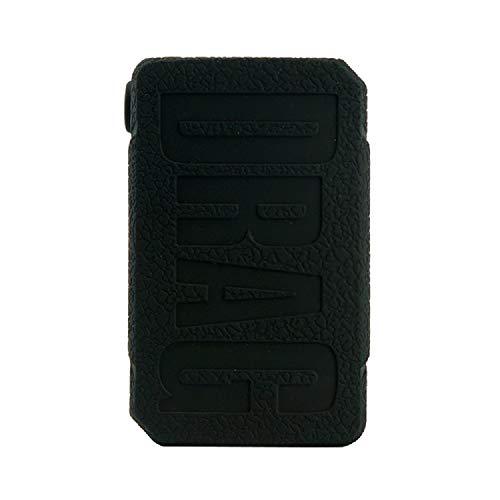 CEOKS for Voopoo Drag Mini 117W Silicone Case, Anti-Slip Protective Silicone Case Skin Rubber Cover for Voopoo Drag Mini TC Mod Box Rubber case wrap Shield (Black)