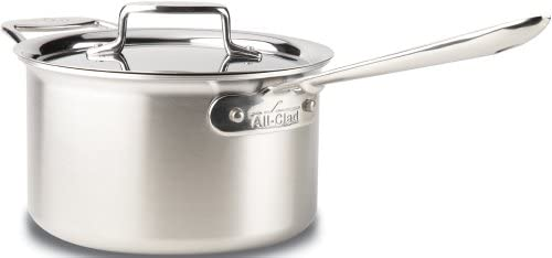 All Clad BD55204 Stainless Cookware 4 Quart