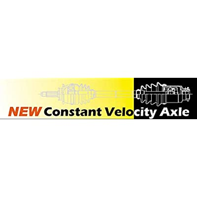 DTA GM25812582 2 New Front CV Axles Compatible with GMC Acadia, Saturn Outlook, Buick Enclave, Chevrolet Traverse: Automotive