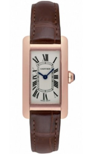 Amazon.com : Cartier Tank Americaine Quartz Womens Watch Model W2607456 : Everything Else
