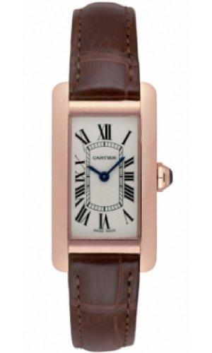 Amazon.com : Cartier Tank Americaine Quartz Womens Watch Model W2607456 : Everything Else