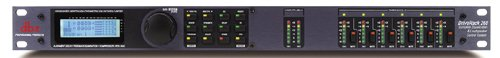 dbx DriveRack 260 2x6 I/O Loudspeaker Management System (Crossover, Graphic EQ, Parametric EQ, Auto-EQ, and Limiter)