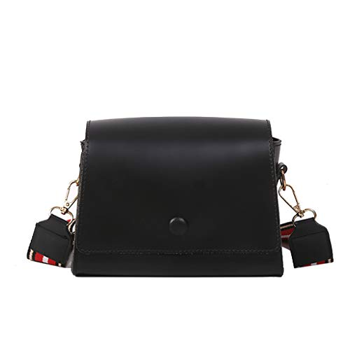 KLGDA Women Top Handle Satchel Handbags Shoulder Bag Tote Purse Messenger Bags Square Bag