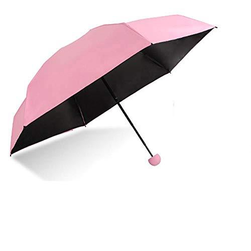 PZXY Paraguas Plegable Ultra luz Mini Bloqueador Solar lápiz Bolsillo Paraguas Bolsillo Hombres Lluvia Paraguas Plegable cápsula 53 * 85cm: Amazon.es: ...