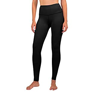 90 Degree By Reflex - High Waist Powerflex Legging - Tummy Control - Violet Storm - Small