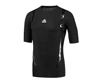 Adidas TechFit PowerWeb Kompression Kurzarm T Shirt