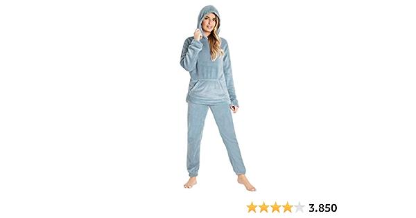 CityComfort Pijamas Mujer, Pijama Mujer Invierno de Forro ...