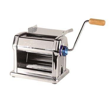 FMA Omcan Food Machinery (R220) Manual Pasta Sheeter Noodle Maker 9 in. by FMA Omcan Food Machinery