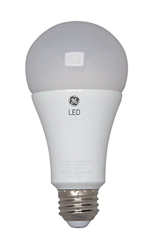 GE Lighting 89993 LED 14-watt 1100-Lumen Dimmable A21 Light Bulb with Medium Base, Soft White, 1-Pack