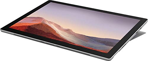 Newest Microsoft Surface Pro 7 12.3 Inch Touchscreen Tablet PC Bundle with WOOV Sleeve, Intel 10th Gen Core i3, 4GB RAM, 128GB SSD, WiFi, Windows 10, Platinum (Latest Model)