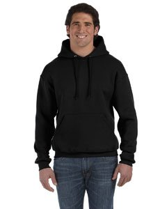 Fruit of the Loom Womens Supercotton 70/30 Pullover Hood (82130) -Black -L