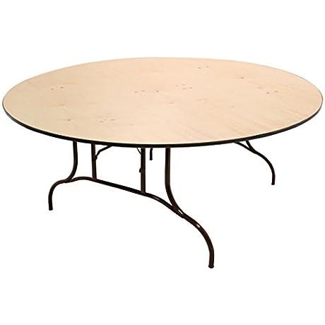 Atlas Lane Titan 72 Round Plywood Folding Table