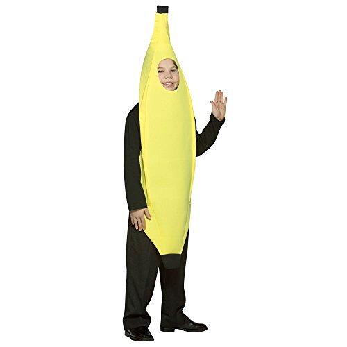 [LW Banana Costume - One Size] (Comical Halloween Costumes)