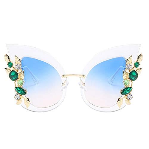 de Yj08 pour de monture à diamant en femme Lunettes Lunettes tendance de soleil soleil Yeux ZCFX Lunettes de mode chat Monture soleil 1wOqSSt