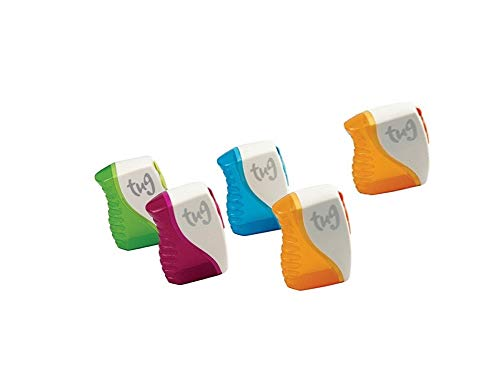 Tug Pencil Sharpener - Assorted Colors (5 pack)