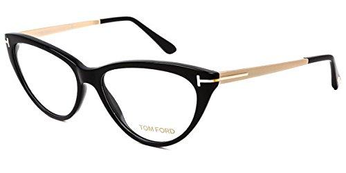 Tom Ford FT5354 Eyeglasses 53-14-140 Shiny Black - Ford Campbell Tom