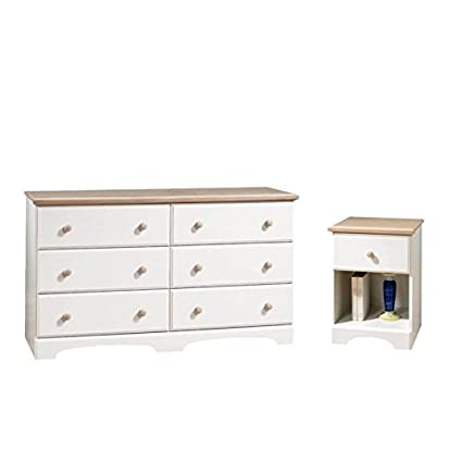 Amazon.com: Home Square 2 Piece Bedroom Set with Dresser and ...
