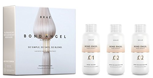 Price comparison product image Bond Angel Plex Effect, Bond Multiplier Treatment Kit for Bleaching and Coloring protection for All Hair Types - 100ml Step1,2,2