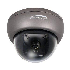 (SPECO Technologies HINT13T | Intensifier T Series HINT13T 2MP Outdoor HD-TVI-BNC Connection, Mini Dome Camera, 2.8mm Fixed Lens)