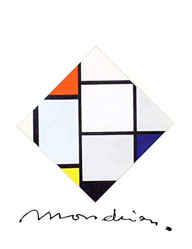 Piet Mondrian: Boxed Set of 16 Note Cards with Envelopes ()