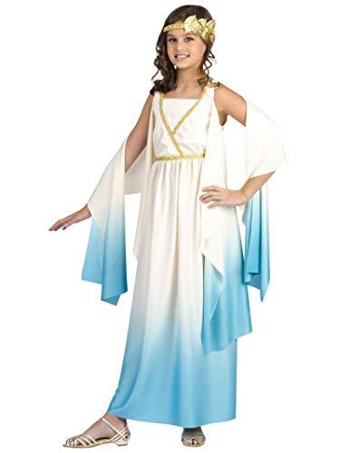 Fun World Greek Goddess Child Costume Cream Large (12-14)